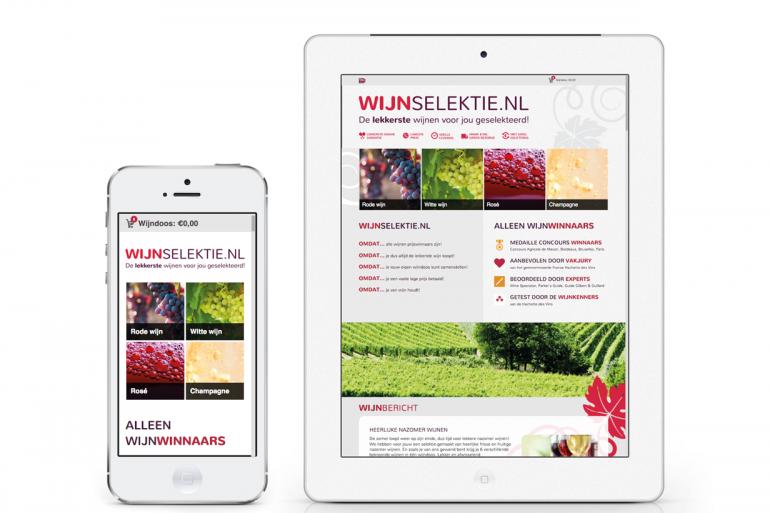 Wijnselektie – website