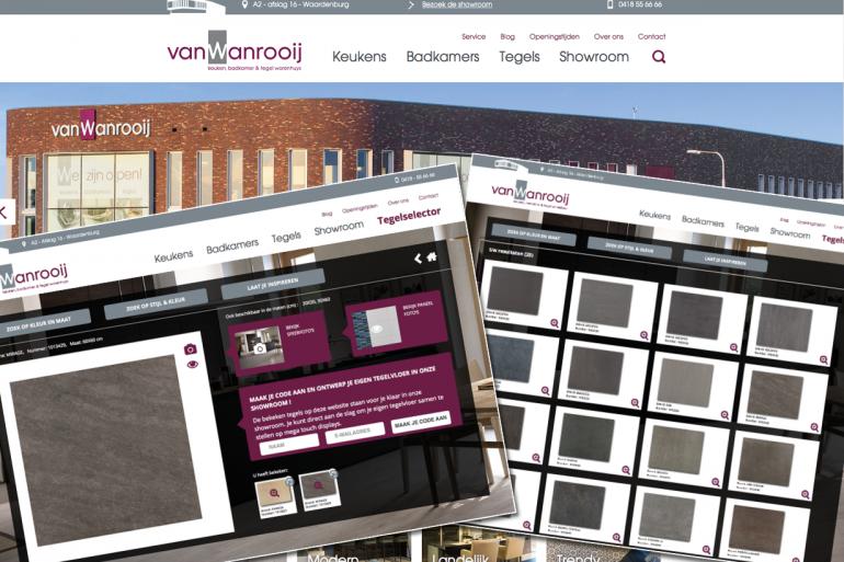 Van Wanrooij – Tegel selector