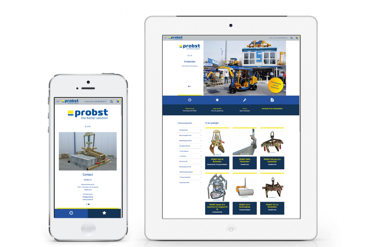 Probst – webshop
